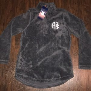 Alpha phi quarter zip fleece